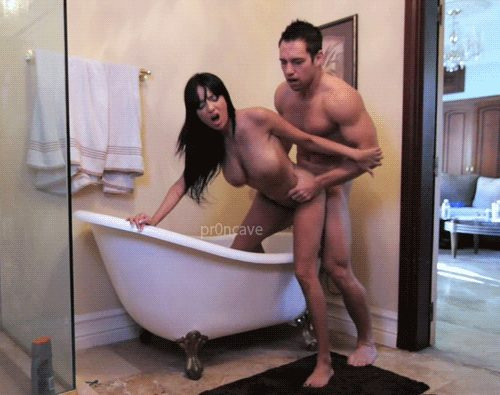 Anissa Kate - having sex with her cousin in bath