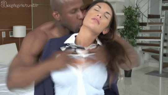 Black guy ripped August Ames clothes - Sex Gif with Captions ...